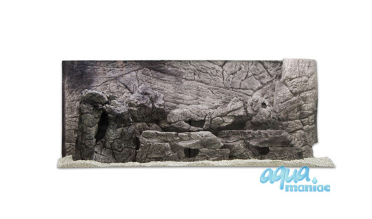 3D grey thin background 77x36cm