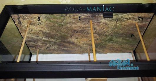 3D thin rock background 117x45cm
