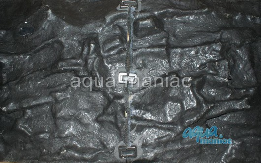 JUWEL RIO 180 3D thin grey rock background 98x40cm in 2 sections