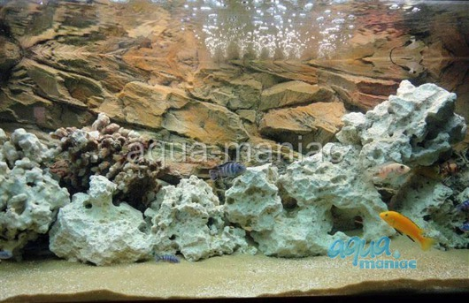 JUWEL RIO 400 3D rock background 147x58cm 3 sections