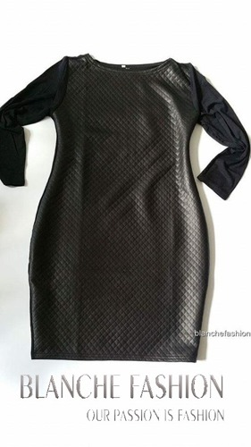 Ladies Sexy Mini Black Dress
