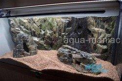 XXL beige aquarium rock