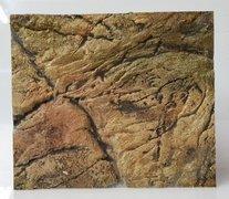 3D Thin Beige Rock Background Sample
