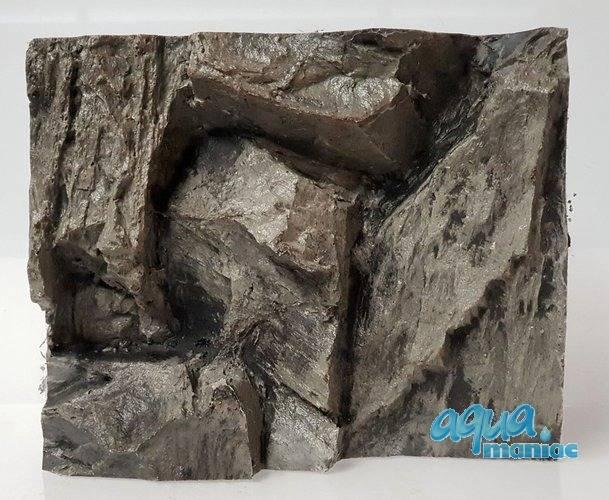3D Grey Rock Background Sample