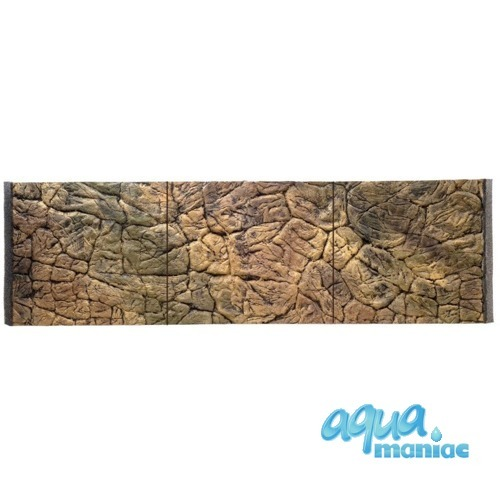 3D Thin Rock Background 178x58cm in 3 section to fit 6 foot by 2 foot tanks