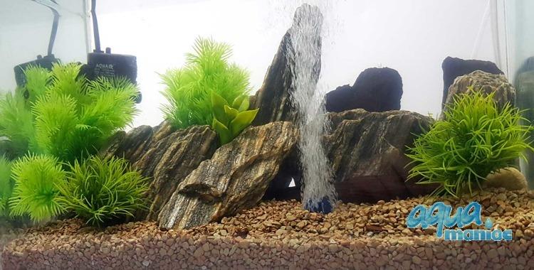 Aquarium Fake Plants Bundle - 6 pcs