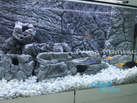 Aquarium Filter cover grey 28cm height