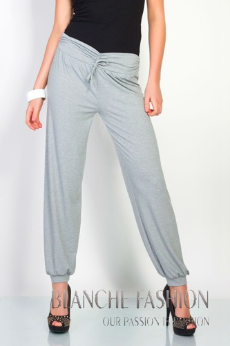 Cotton Alladin Pants Ali Baba Baggie Harem Trousers Grey