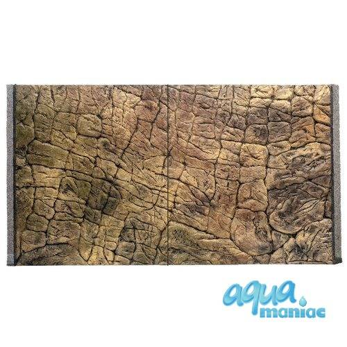 Fluval Vicenza 260 thin rock background 117x52 cm 2 sections