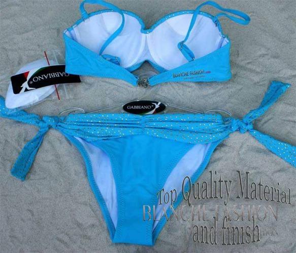 Sexy Bikini Padded Push-up Blue set  8/36