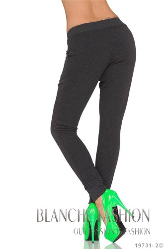 Sexy fleece Joggers tracksuit bottoms jogging Pants Grey