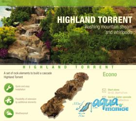 High Land Torrent - water cascade